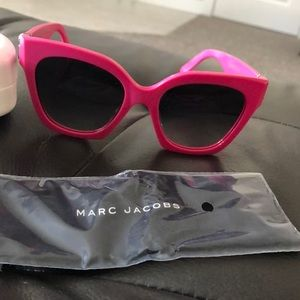 Accessories - Marc Jacobs hot pink sunglasses